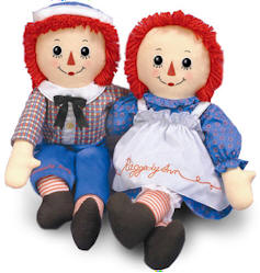 Raggedy Ann and Andy Birthday Party Ideas