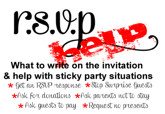 Invitation Help What To Write On The Birthday Party