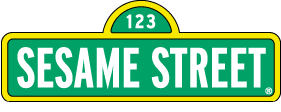 Sesame street sign for party invitations