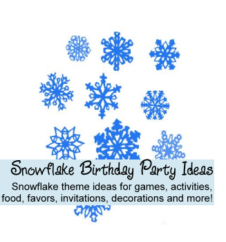 Snowflake party ideas
