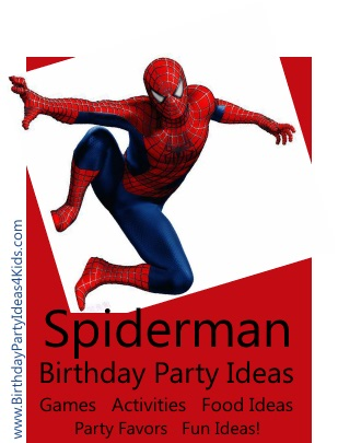 Spiderman Party Ideas Birthday Party Ideas for Kids