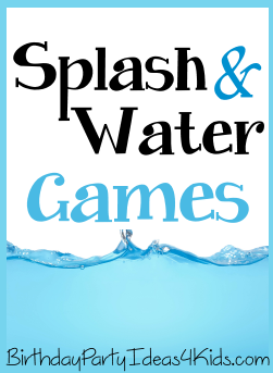Splash and Water Party Games