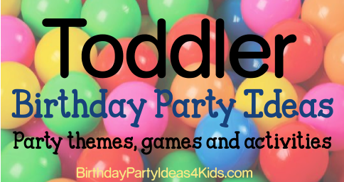 toddler birthday party colorful balls