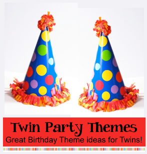 Twins Party Themes | Birthday Party Ideas for Kids