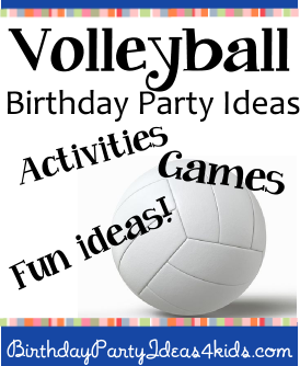 volleyball craft ideas ideas 3195