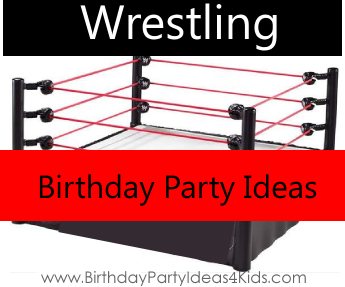 Wrestling Birthday Theme
