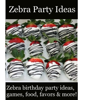 Zebra Party Ideas Zebra Birthday Party Theme