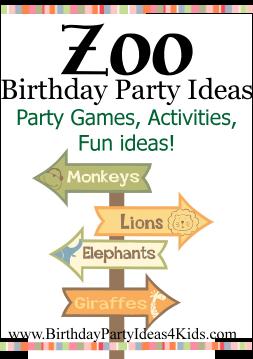 Zoo Birthday Party Ideas Birthday Party Ideas 4 Kids